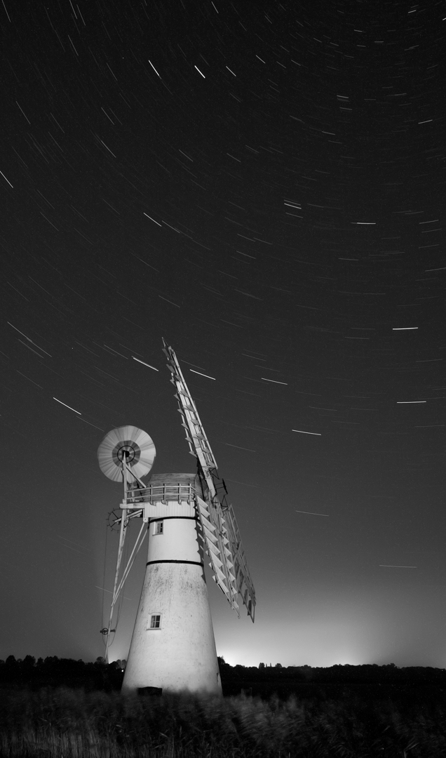 Thurne Mill at Night