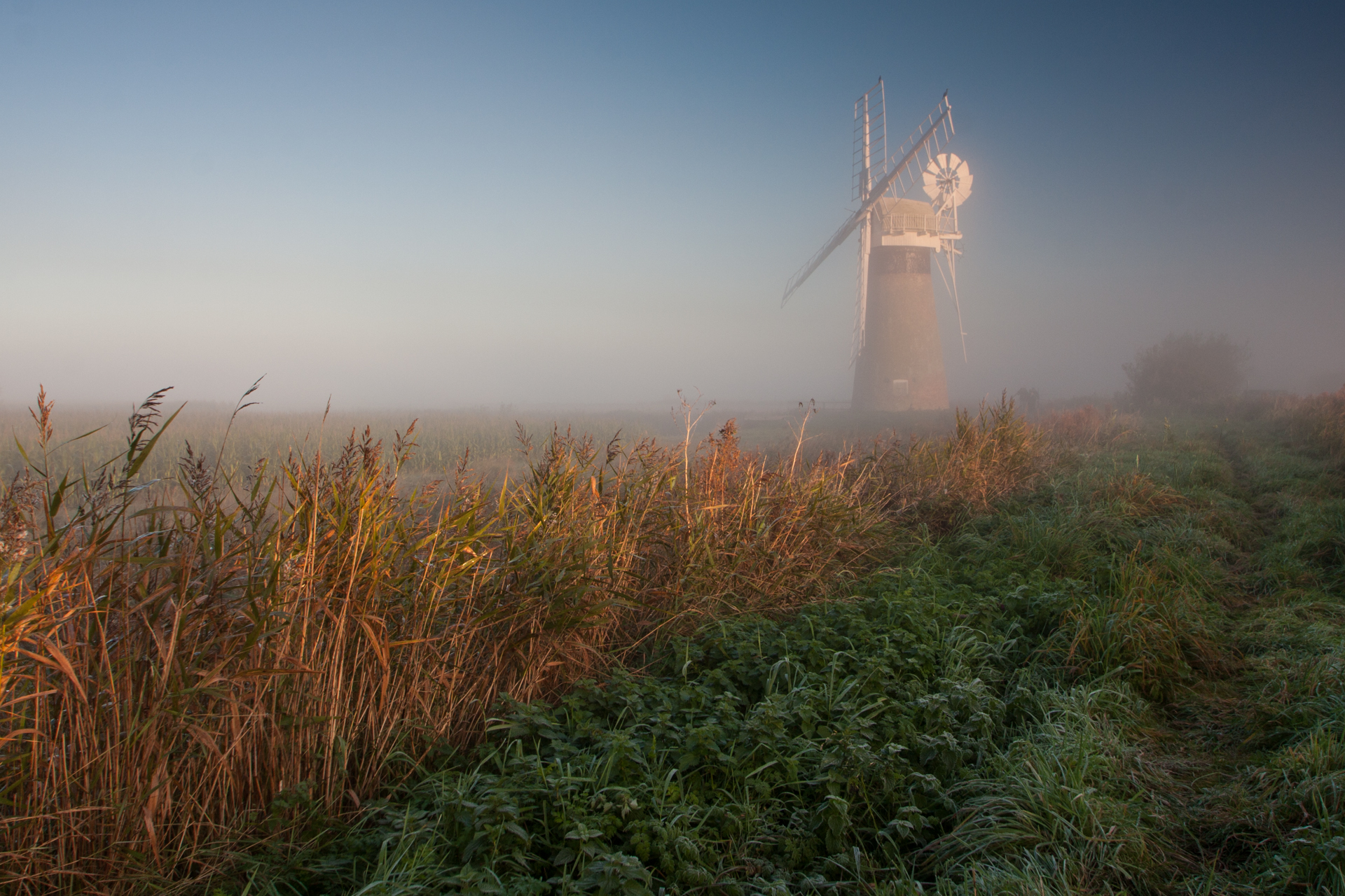 St.Benets Mill on the Broads
