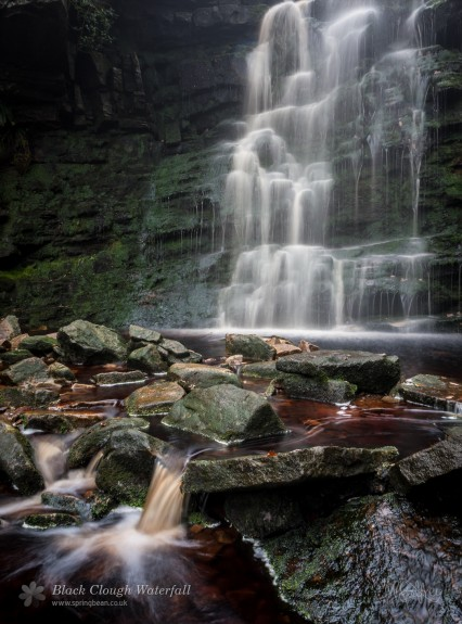 Black Clough Waterfall