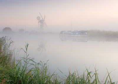 Misty Morning on the Broads