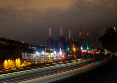 Battersea and Trains