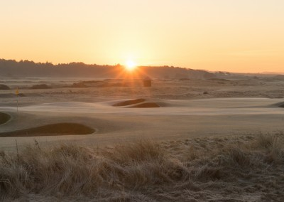 Sunrise at Royal Troon
